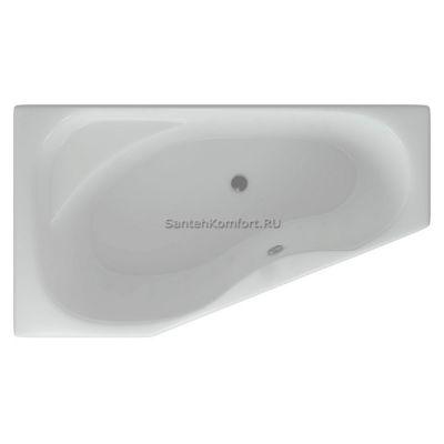 Угловая ванна Акватек Медея L (170х95 см)