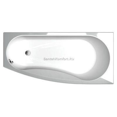 Угловая ванна Акватек Пандора R (160х75 см)