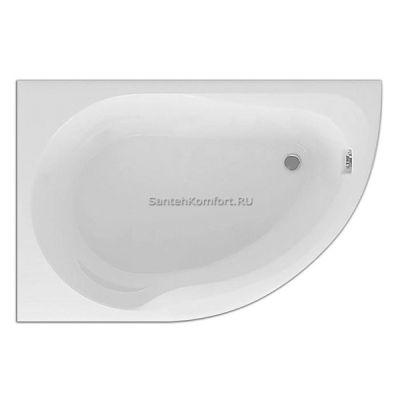 Угловая ванна Акватек Вирго L (150х100 см)